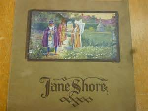 Jane Shore booklet