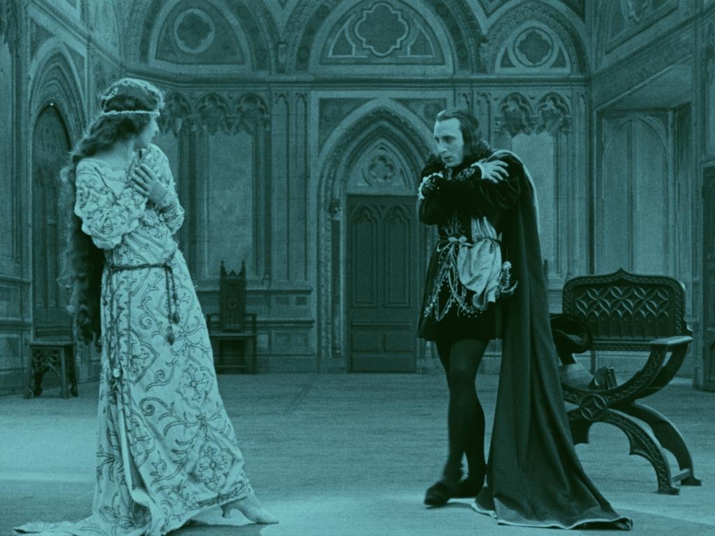 Mosjoukine plays Kean plays Hamlet